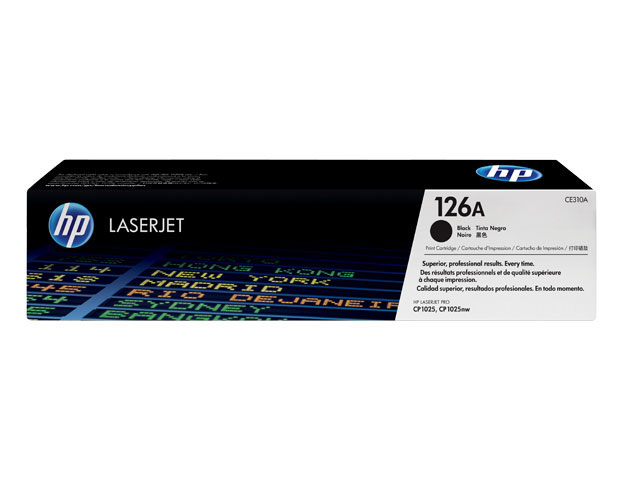 тонер касета hp 126a black HP CE310A